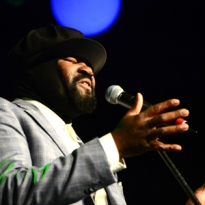 World renowned vocalist and composer Gregory Porter's performance was one of the highlights of the Joy of Jazz festival, held for the first time at the Sandton Convention Centre, johannesburg in 2014.